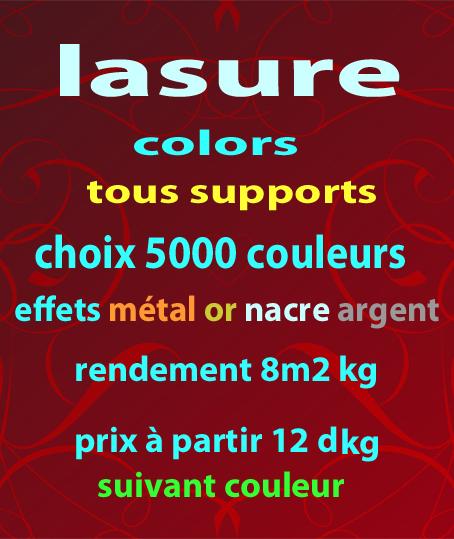 lazure color